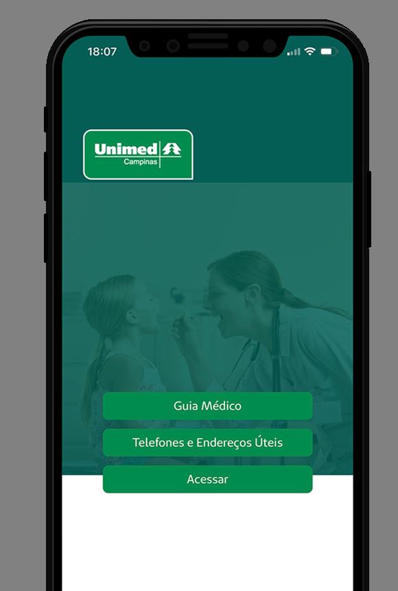 Aplicativo Unimed Campinas - Eficiência na Palma da Mão